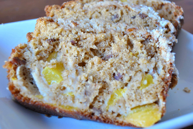 Peach Bread | Meeshiesmom's Blog