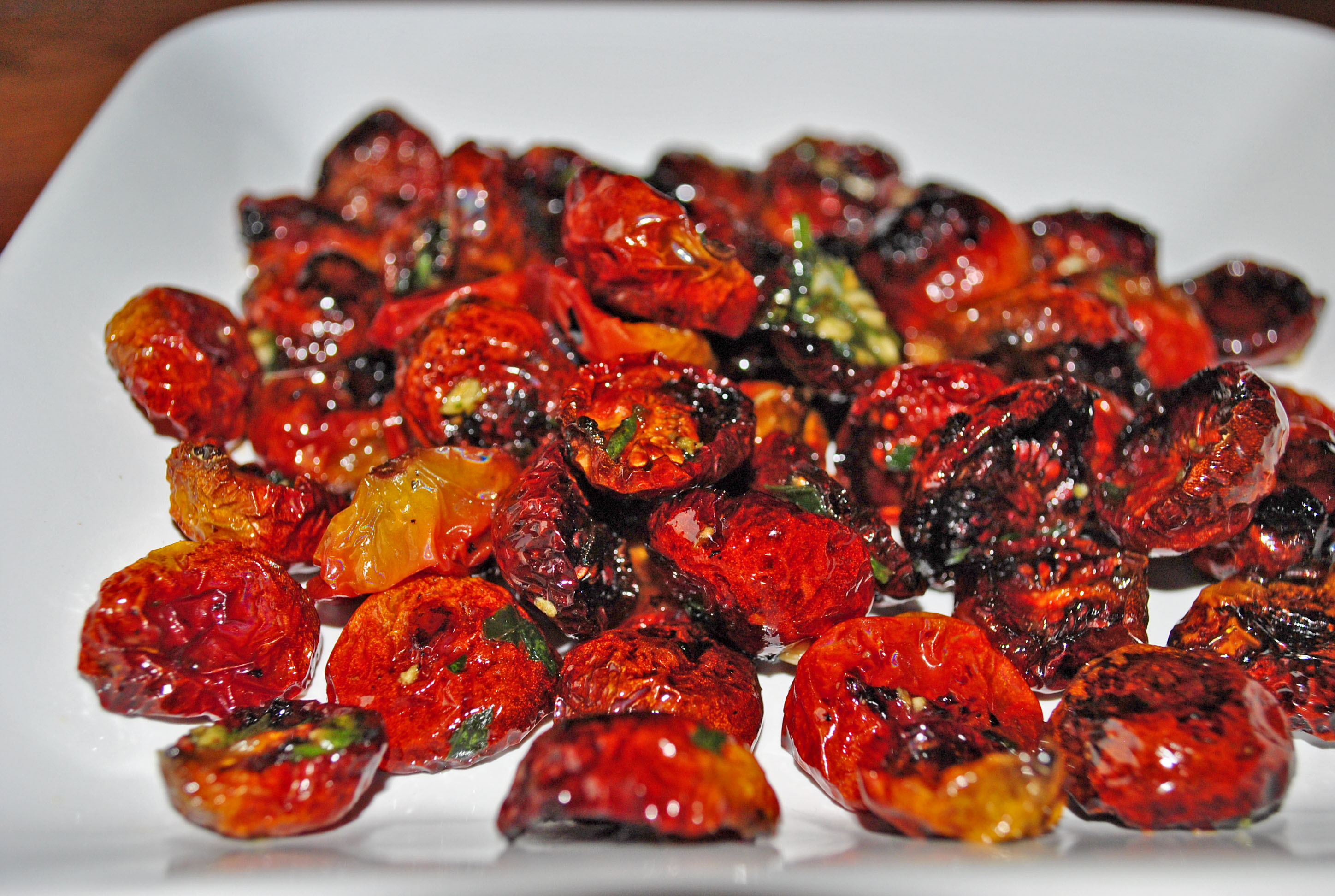 Oven Roasted Cherry Tomatoes | Meeshiesmom's Blog