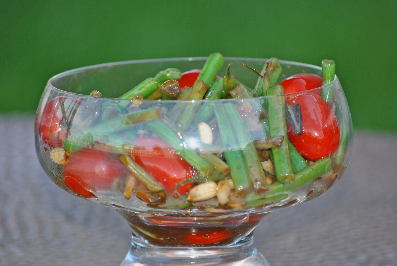 Warm Green Bean Salad | Meeshiesmom's Blog