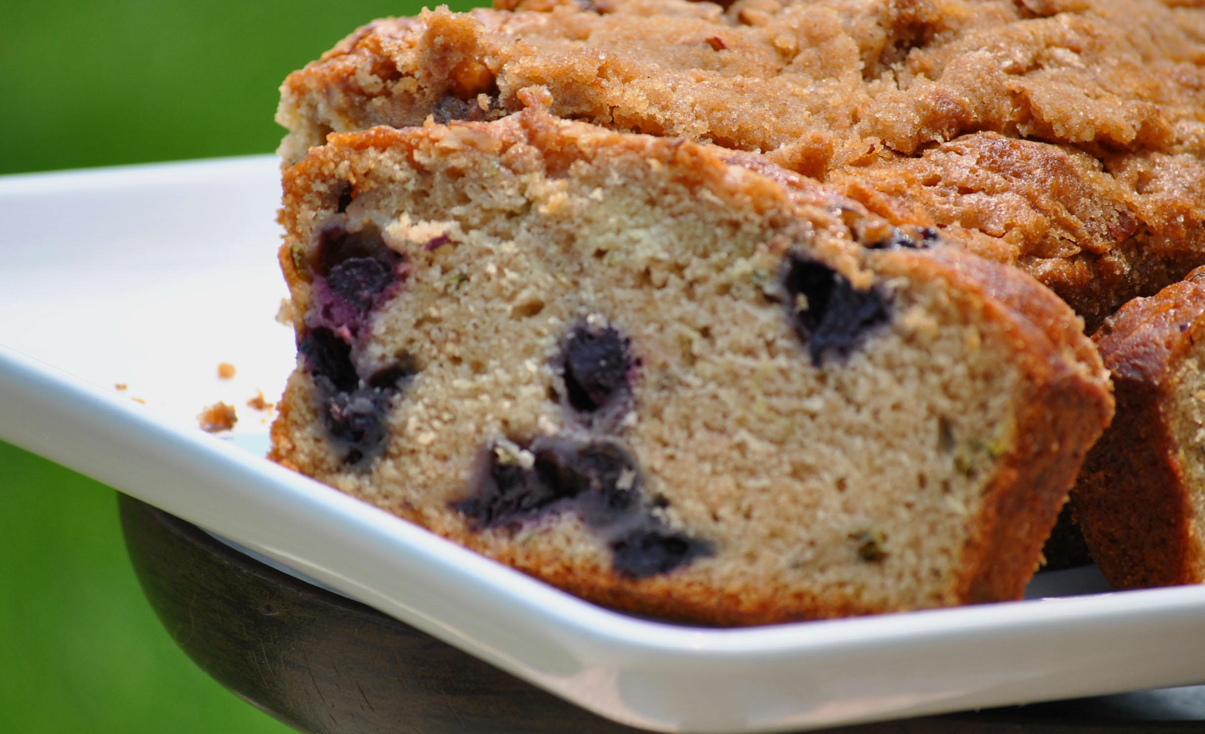 blueberry zucchini bread ii