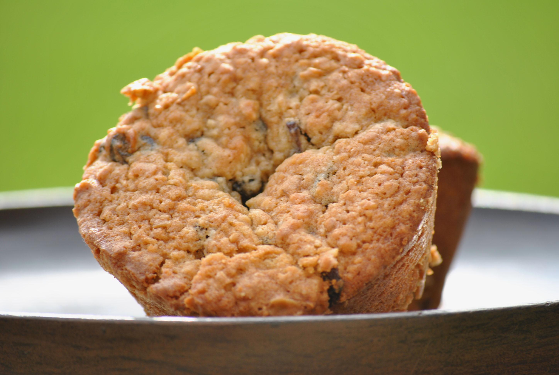 Oatmeal Raisin Cookie Muffins Recipe — Dishmaps