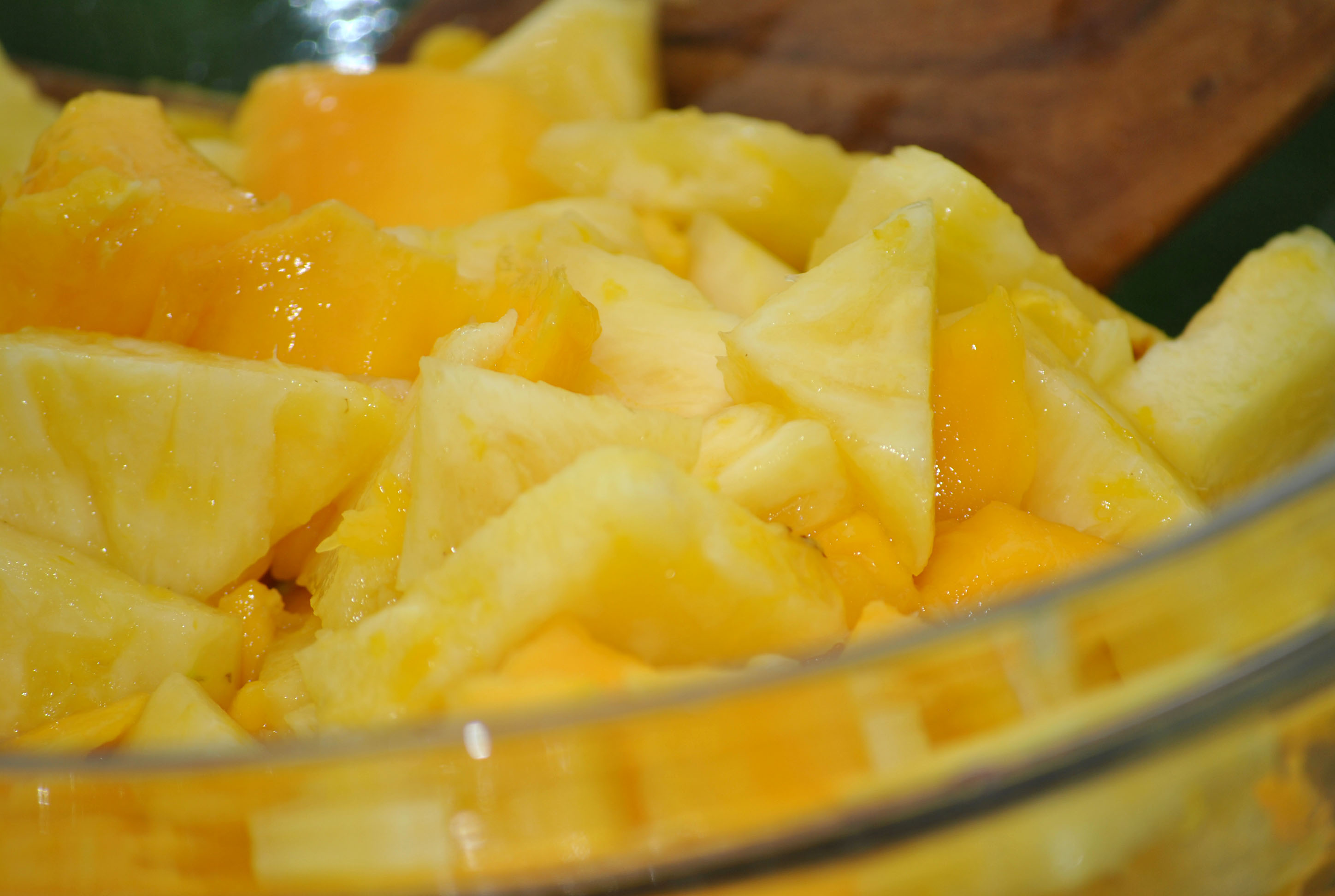 pineapple mango upside down cake pineapple mango and meyer pineapple ...